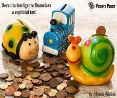 Dezvoltă inteligenţa financiară a copilului tău!
