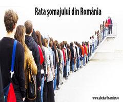 Rata șomajului din România sub media Uniunii Europene în luna ianuarie 2017