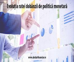 Evoluția ratei dobânzii de politică monetară