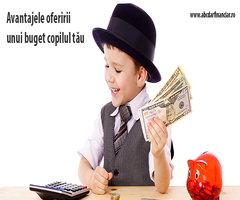 Avantajele oferirii unui buget copilului tău