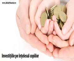 Investițiile pe înțelesul copiilor